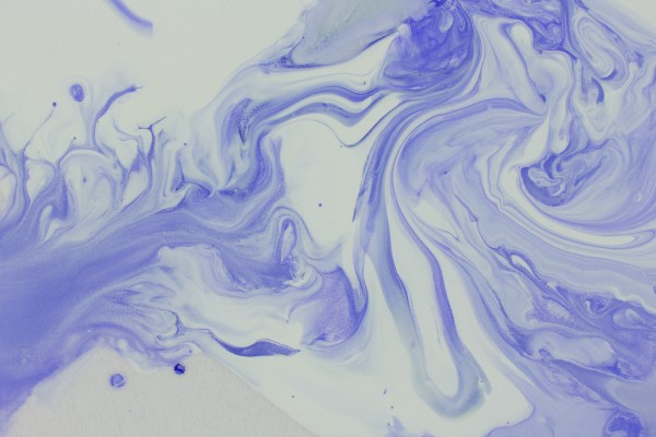 Marbled Painting Virtual Paint Night Team Building Activity