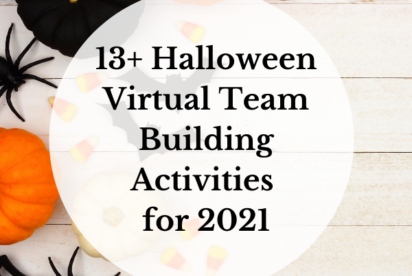 13+ Halloween Virtual Team Building Activities for 2021