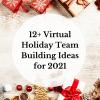 Virtual Holiday Team Building
