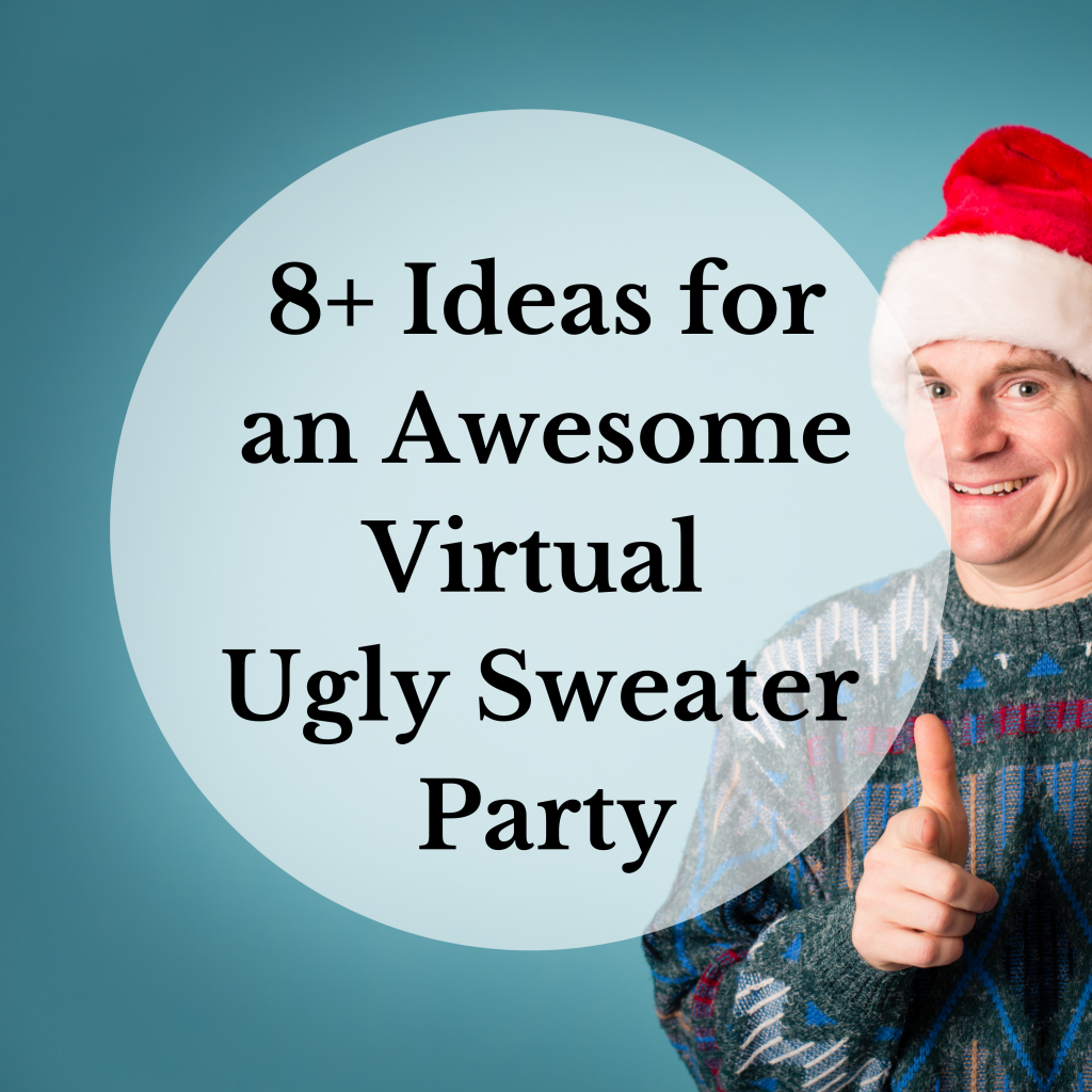 virtual ugly sweater party ideas